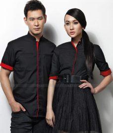 Dong Phuc Cong Ty GLU CT154 may áo sơ mi