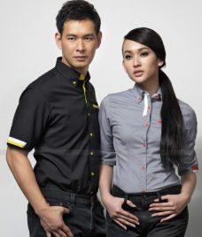 Dong Phuc Cong Ty GLU CT155 may áo sơ mi