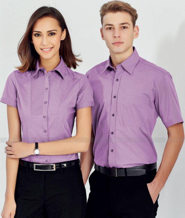 Dong Phuc Cong Ty GLU CT159 áo đồng phục công ty đẹp
