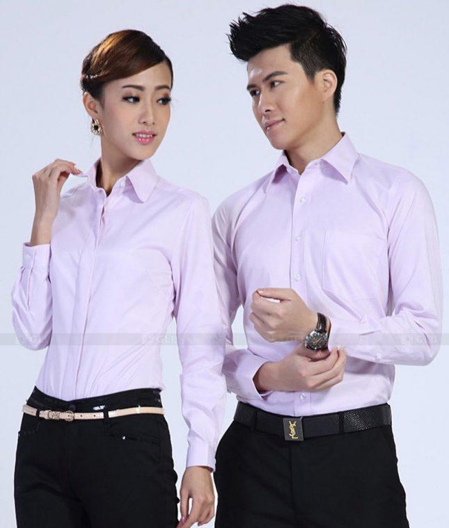 Dong Phuc Cong Ty GLU CT173 áo đồng phục công ty đẹp