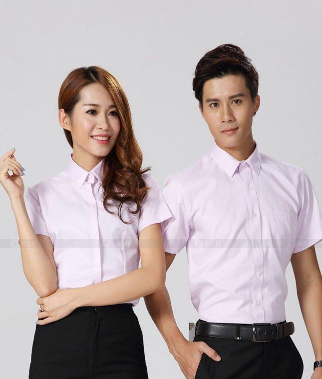 Dong Phuc Cong Ty GLU CT179 áo đồng phục công ty đẹp