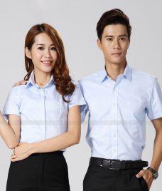 Dong Phuc Cong Ty GLU CT180 may áo sơ mi