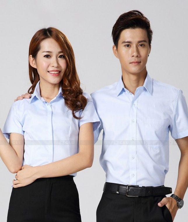 Dong Phuc Cong Ty GLU CT180 áo đồng phục công ty đẹp