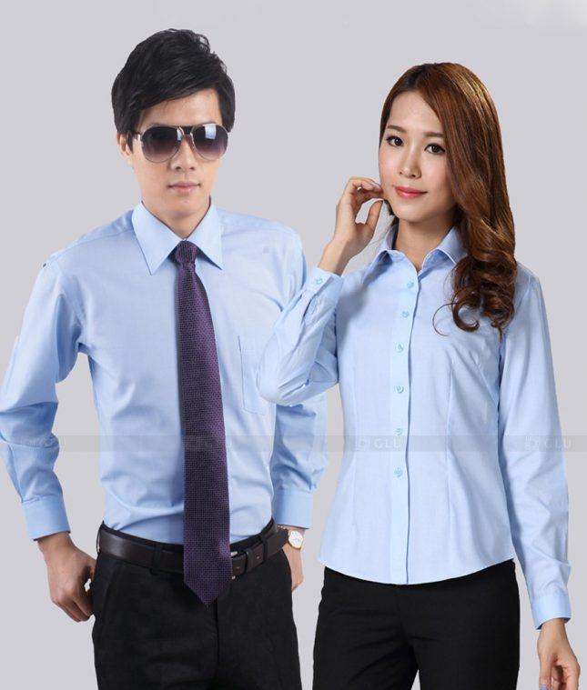 Dong Phuc Cong Ty GLU CT187 áo đồng phục công ty đẹp