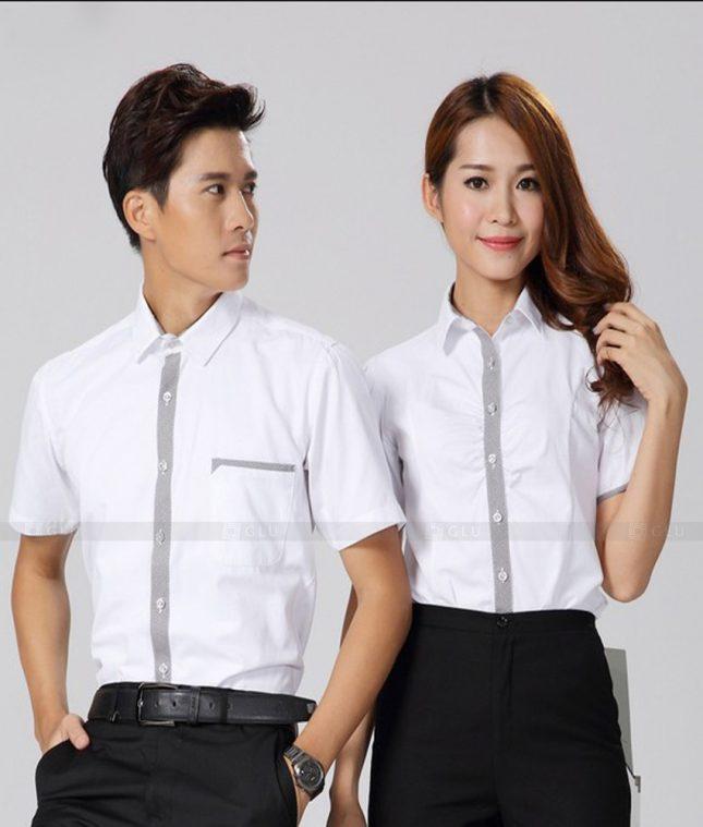 Dong Phuc Cong Ty GLU CT190 đồng phục công ty đẹp