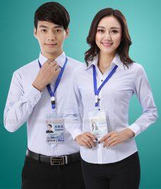 Dong Phuc Cong Ty GLU CT191 may áo sơ mi