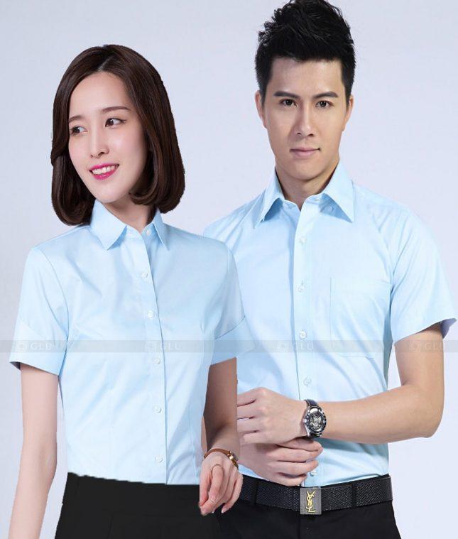 Dong Phuc Cong Ty GLU CT192 đồng phục công ty đẹp