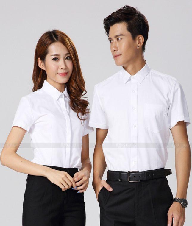 Dong Phuc Cong Ty GLU CT193 đồng phục công ty đẹp