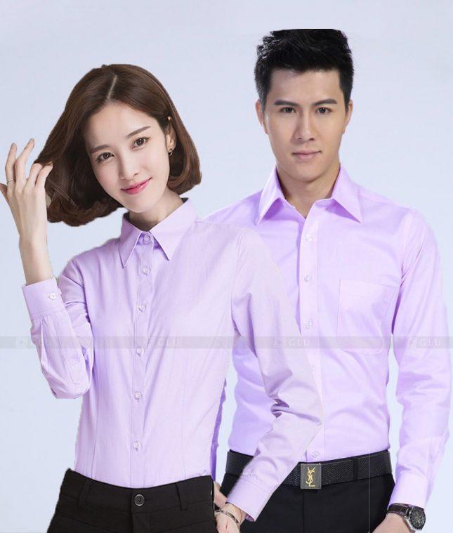 Dong Phuc Cong Ty GLU CT194 đồng phục công ty đẹp