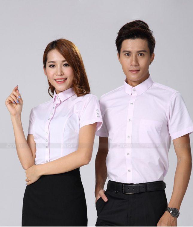 Dong Phuc Cong Ty GLU CT195 đồng phục công ty đẹp
