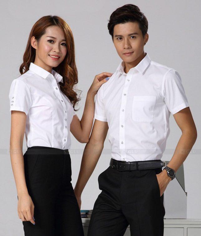 Dong Phuc Cong Ty GLU CT196 đồng phục công ty đẹp