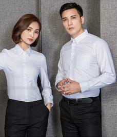 Dong Phuc Cong Ty GLU CT203 may áo sơ mi
