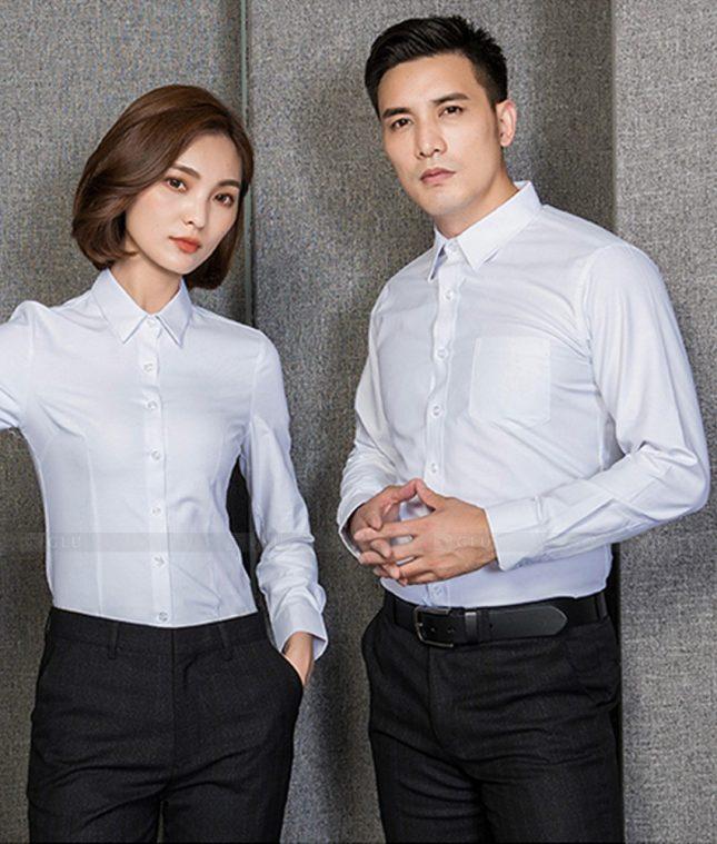 Dong Phuc Cong Ty GLU CT203 đồng phục công ty đẹp