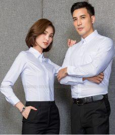 Dong Phuc Cong Ty GLU CT204 may áo sơ mi