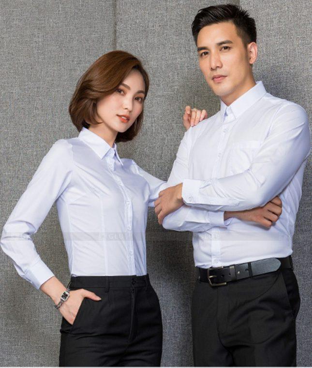 Dong Phuc Cong Ty GLU CT204 đồng phục công ty đẹp