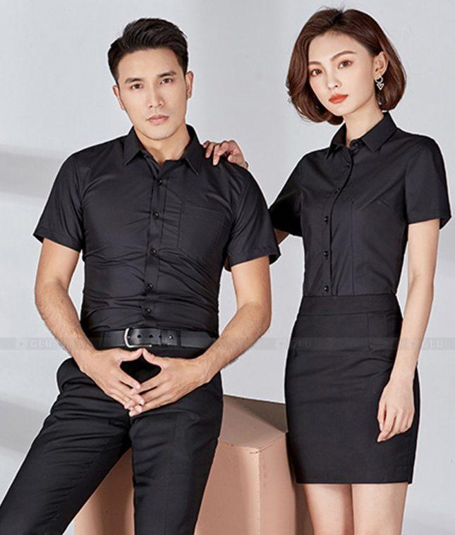 Dong Phuc Cong Ty GLU CT205 đồng phục công ty đẹp
