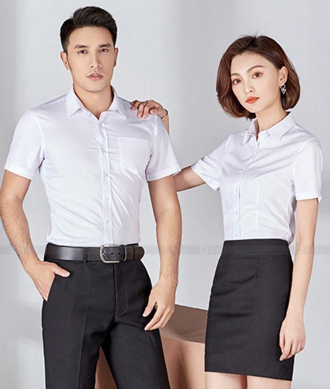 Dong Phuc Cong Ty GLU CT206 đồng phục công ty đẹp