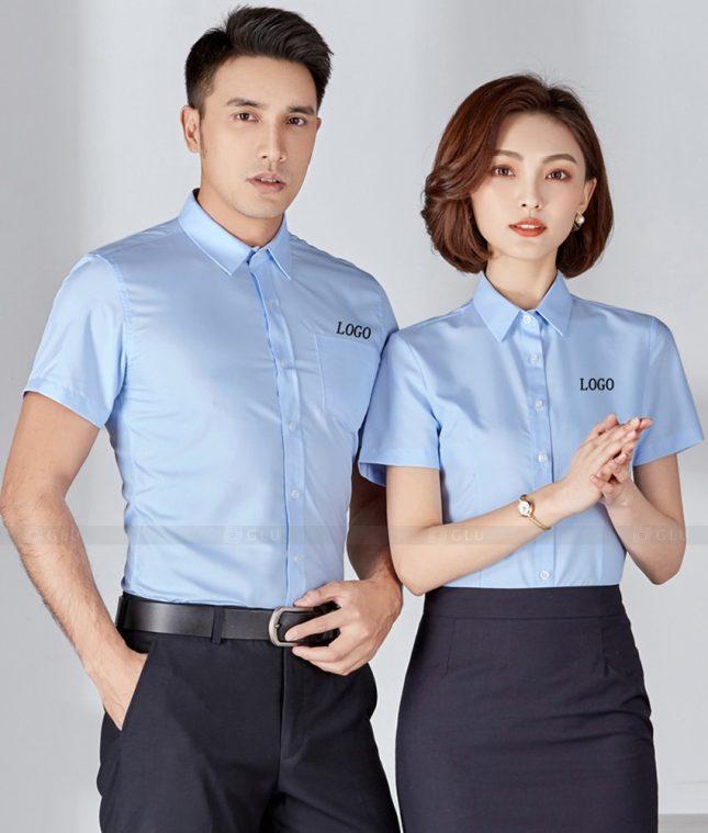 Dong Phuc Cong Ty GLU CT207 đồng phục công ty đẹp