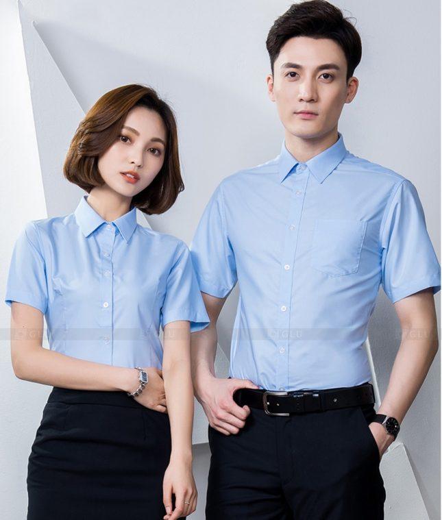 Dong Phuc Cong Ty GLU CT209 đồng phục công ty đẹp
