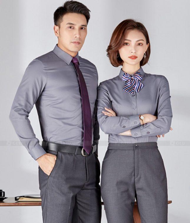 Dong Phuc Cong Ty GLU CT210 đồng phục công ty đẹp