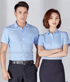 Dong Phuc Cong Ty GLU CT211 may áo sơ mi