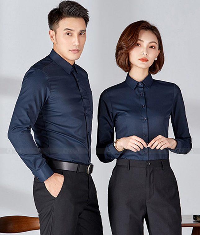 Dong Phuc Cong Ty GLU CT212 đồng phục công ty đẹp