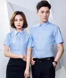 Dong Phuc Cong Ty GLU CT213 may áo sơ mi
