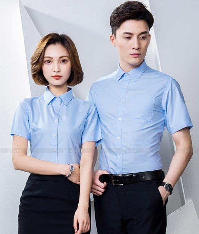 Dong Phuc Cong Ty GLU CT213 đồng phục công ty đẹp