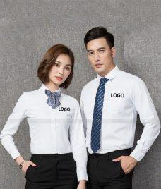 Dong Phuc Cong Ty GLU CT215 may áo sơ mi