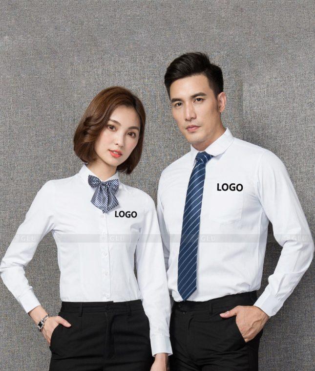 Dong Phuc Cong Ty GLU CT215 đồng phục công ty đẹp