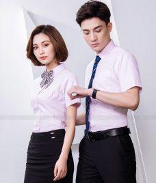 Dong Phuc Cong Ty GLU CT216 may áo sơ mi