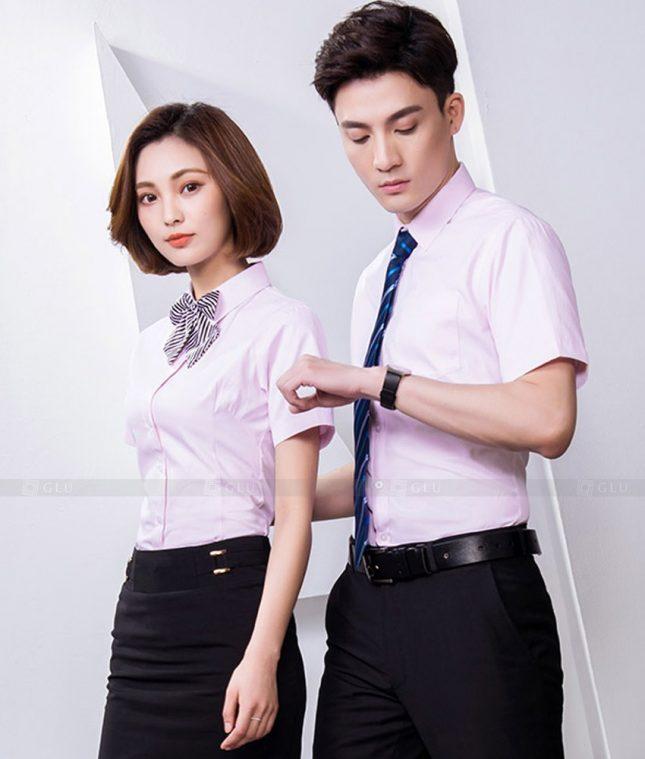 Dong Phuc Cong Ty GLU CT216 đồng phục công ty đẹp