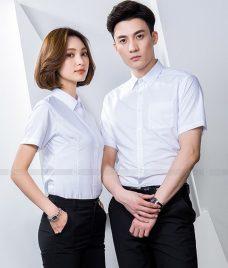 Dong Phuc Cong Ty GLU CT219 may áo sơ mi