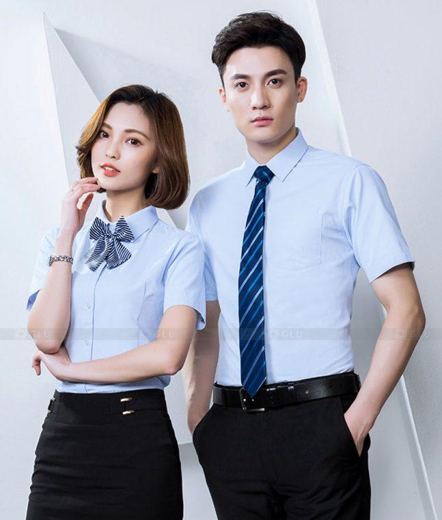 Dong Phuc Cong Ty GLU CT220 đồng phục công ty đẹp