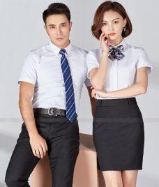 Dong Phuc Cong Ty GLU CT221 may áo sơ mi