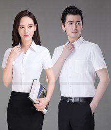Dong Phuc Cong Ty GLU CT223 may áo sơ mi