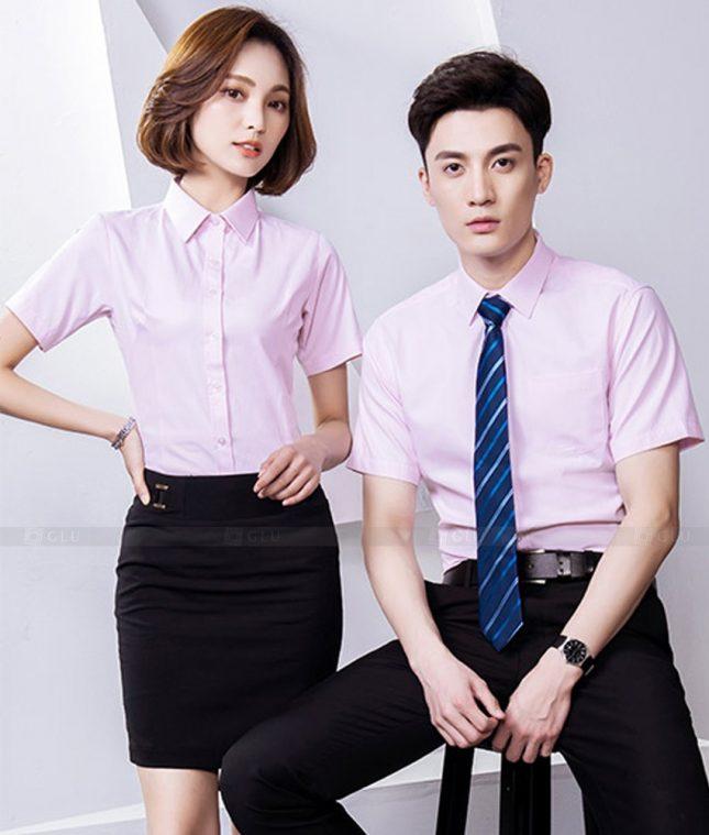 Dong Phuc Cong Ty GLU CT226 áo đồng phục công ty đẹp