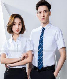 Dong Phuc Cong Ty GLU CT230 may áo sơ mi
