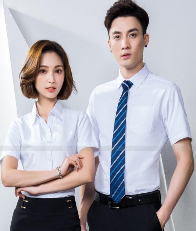 Dong Phuc Cong Ty GLU CT230 áo đồng phục công ty đẹp