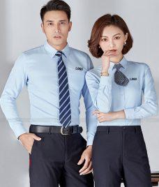 Dong Phuc Cong Ty GLU CT231 may áo sơ mi
