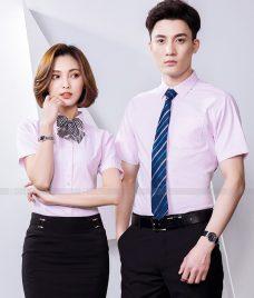 Dong Phuc Cong Ty GLU CT239 may áo sơ mi