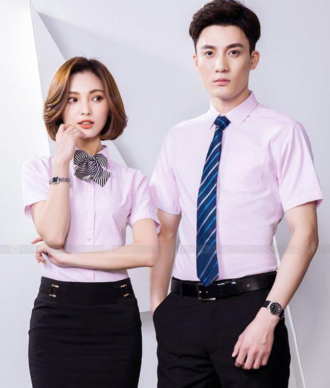 Dong Phuc Cong Ty GLU CT239 đồng phục công ty đẹp