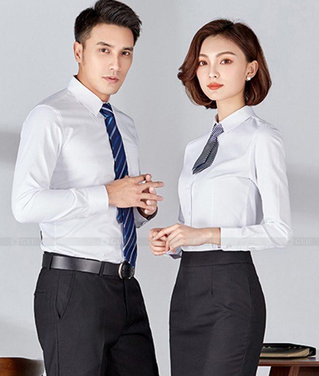 Dong Phuc Cong Ty GLU CT241 đồng phục công ty đẹp