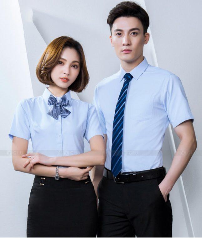 Dong Phuc Cong Ty GLU CT242 đồng phục công ty đẹp