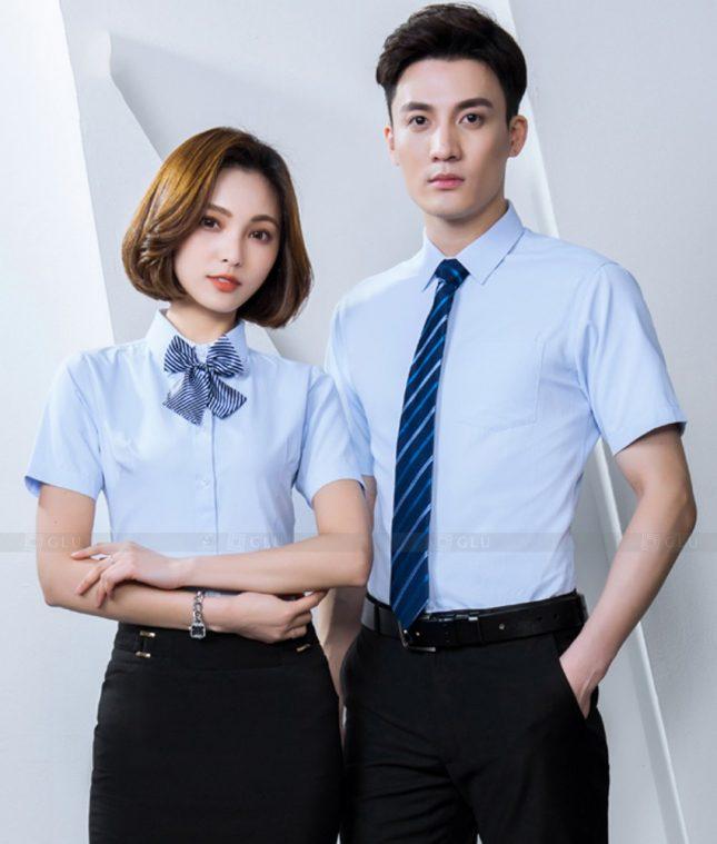 Dong Phuc Cong Ty GLU CT243 đồng phục công ty đẹp