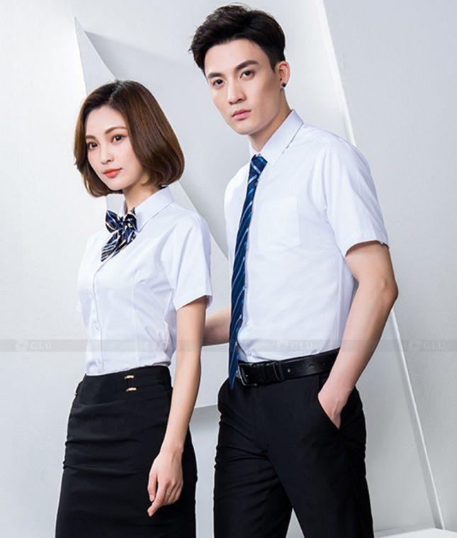 Dong Phuc Cong Ty GLU CT244 đồng phục công ty đẹp