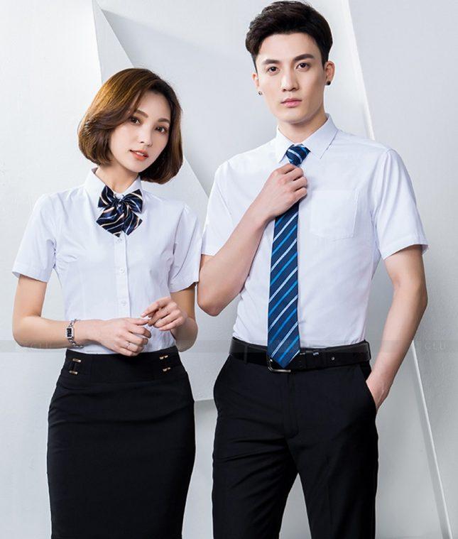 Dong Phuc Cong Ty GLU CT246 đồng phục công ty đẹp
