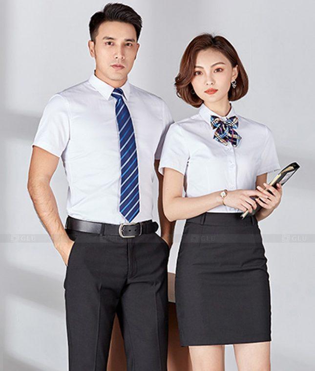 Dong Phuc Cong Ty GLU CT247 đồng phục công ty đẹp
