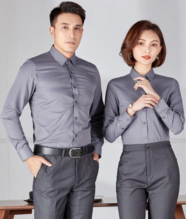 Dong Phuc Cong Ty GLU CT248 đồng phục công ty đẹp