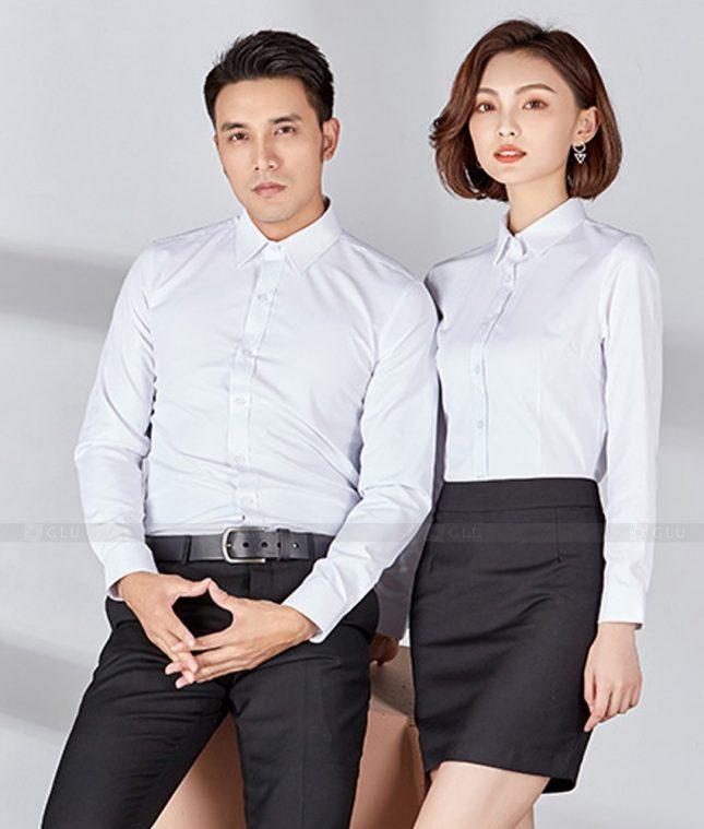 Dong Phuc Cong Ty GLU CT249 đồng phục công ty đẹp